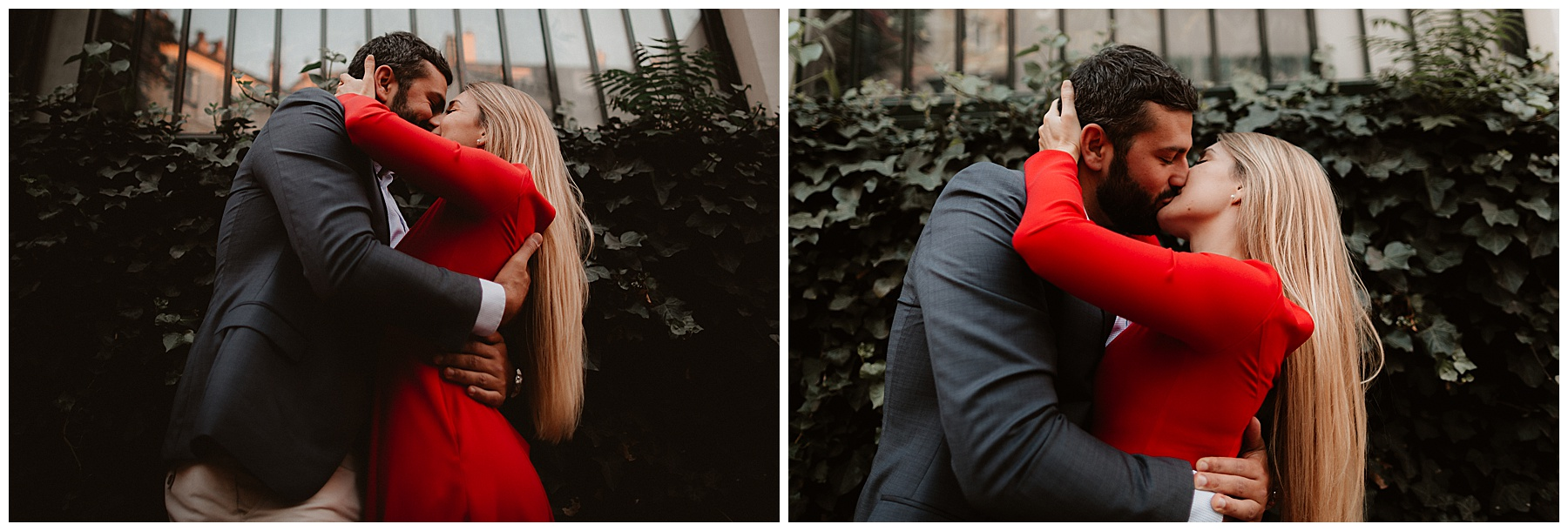 Séance couple à Montmartre Angélique Blaise photographe drôme ardèche